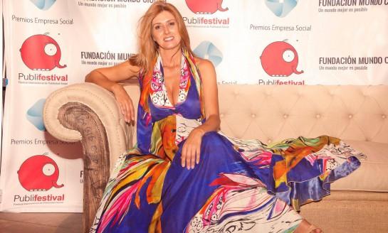 Patricia Betancort fue la encargada de presentar la gala