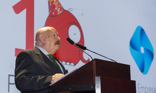 José María Iñigo, presentador de la Gala