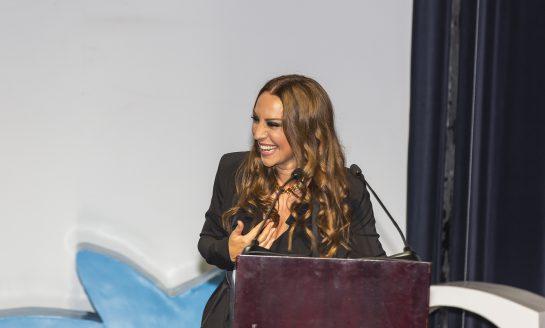 Mónica Naranjo en Premios Empresa Social